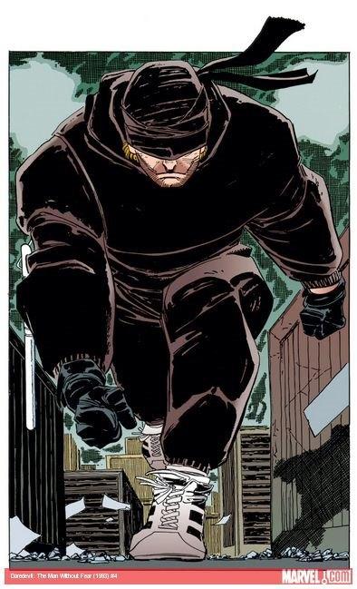 Сорвиголова в комиксе Daredevil: The Man Without Fear. Изображение № 3.