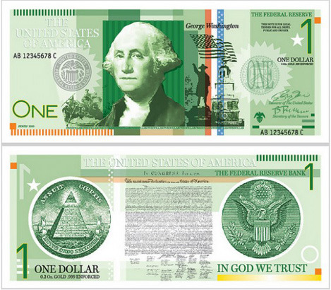 Как дать доллару вторую жизнь: Вашингтон и другие в новом дизайне. Изображение №14.