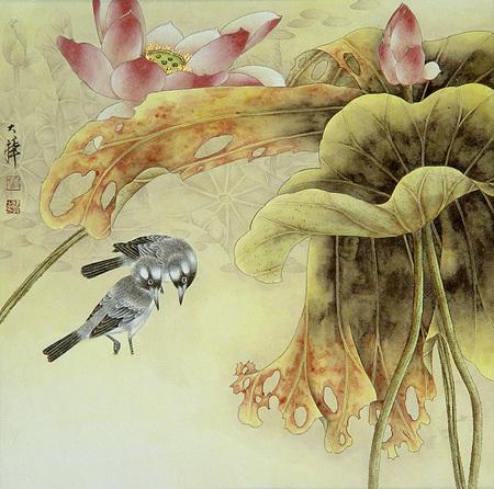 Птицы ицветы. Изображение № 3.