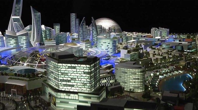В Дубае построят улицу с регулируемой температурой. Изображение №1.
