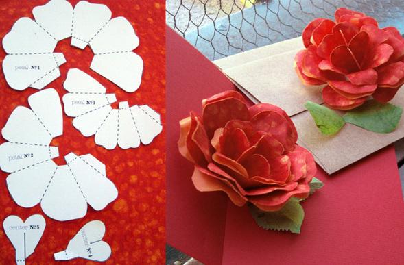 Бумажная роза. Изображение № 1.