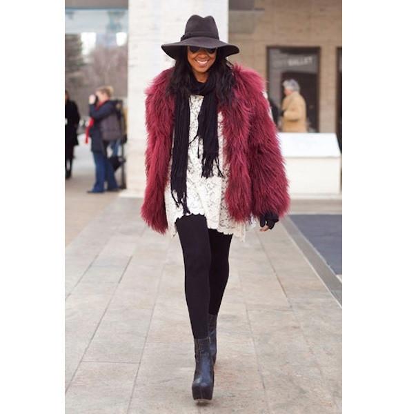 Изображение 124. На полях: 10 тенденций уличного стиля с прошедших недель моды.. Изображение № 124.