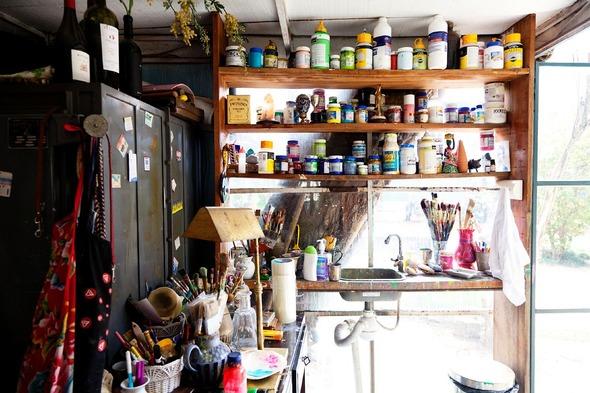 Дом и студия художницы Isabelle Tuchband в Сан Пауло.. Изображение № 8.