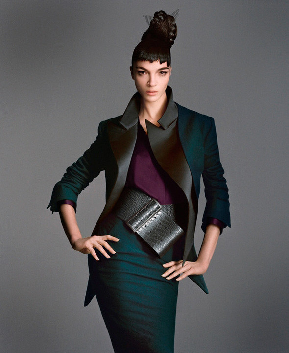 Съёмка: Мариакарла Босконо для Bergdorf Goodman. Изображение № 3.