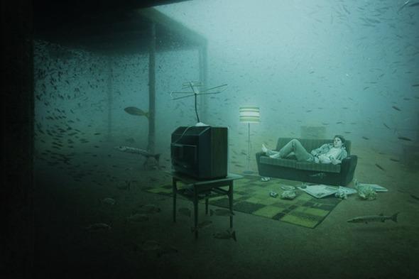 Подводная повседневная жизнь. Изображение №8.