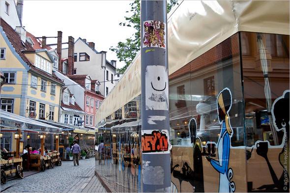 Стрит-арт и граффити Риги. Изображение № 19.