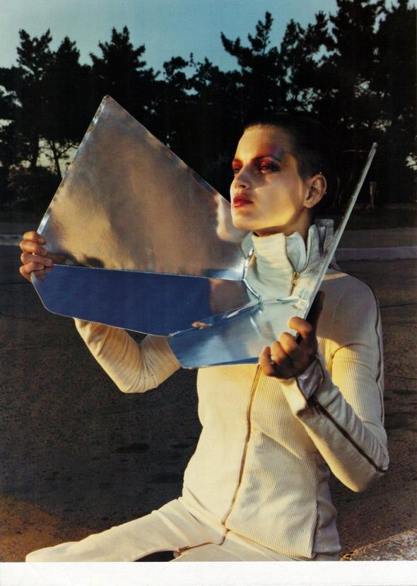 Архивная съемка: 1999 год, Жиневье ван Синус в объективе Марио Сорренти. Изображение № 1.