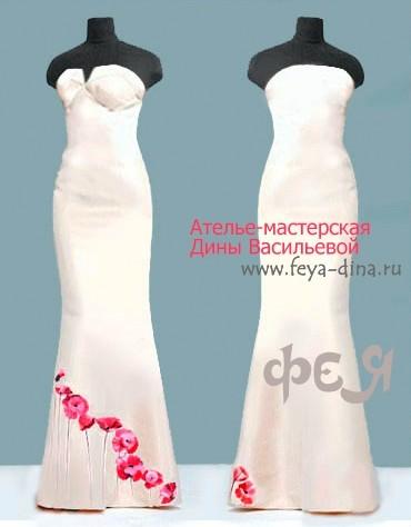 коллекция свадебных платьев от ателье - мастерской Дины Васильевой. Изображение № 3.