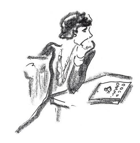 Иллюстрация Карла Лагерфельда к книге «Coco Chanel. Легенда и жизнь» . Изображение № 5.