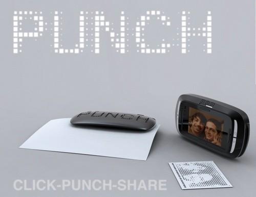 ThePunch Camera. Интересный концепт камеры – дырокола. Изображение № 1.