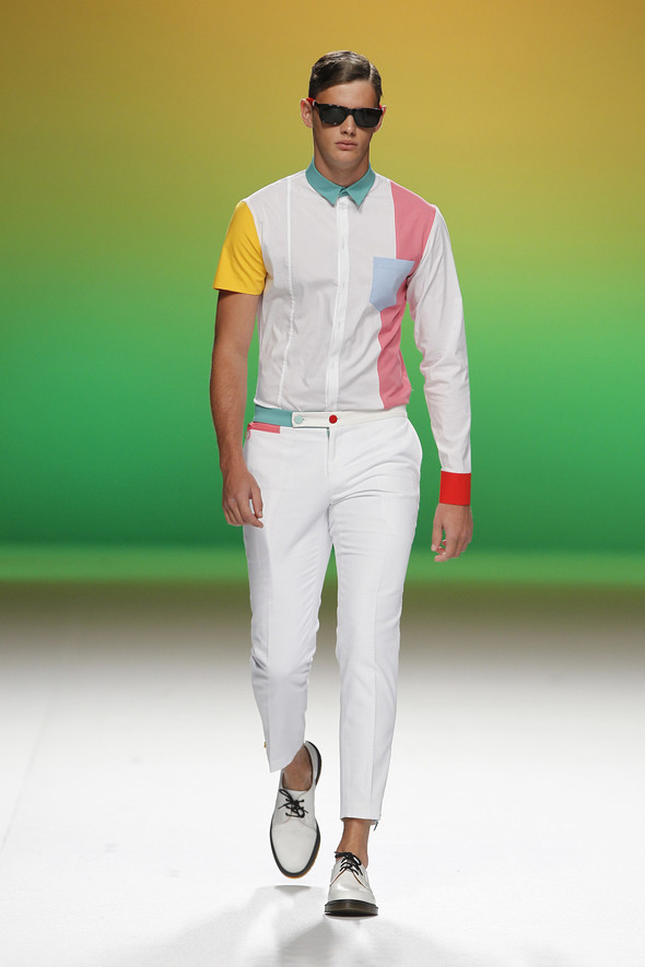 Madrid Fashion Week SS 2012: Davidelfin. Изображение № 11.