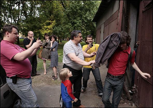 2010-05-15. Москва. Дом Наркомфина. Выставка со взломом. Изображение № 21.