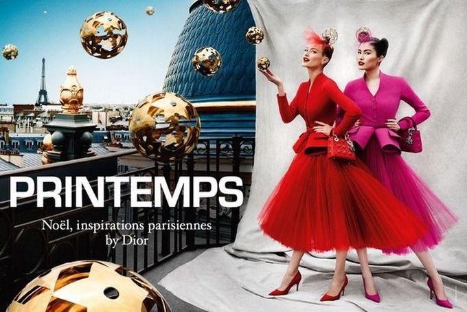 Вышли кампании Dior, Prada, Louis Vuitton и других марок. Изображение № 31.