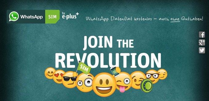 Разработчики WhatsApp начали продавать SIM-карты для доступа к мессенджеру. Изображение № 1.