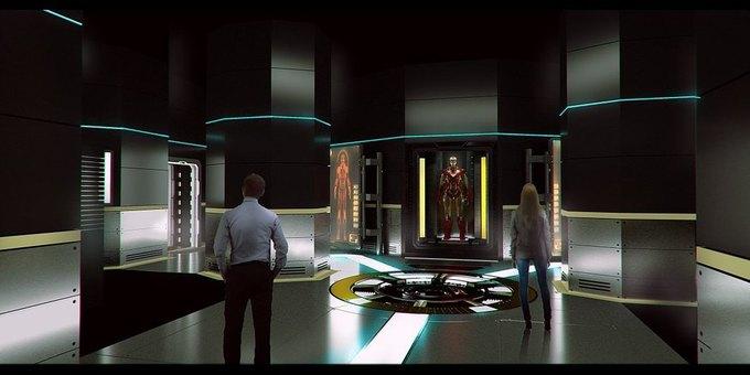 Опубликованы концепт-арты выставки по вселенной «Мстителей» . Изображение № 1.