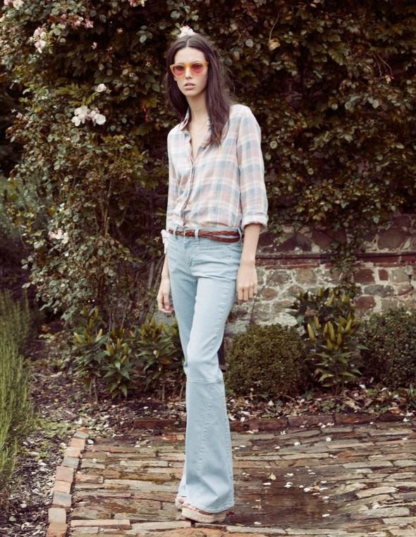 Лукбук: Руби Олдридж для MiH Jeans SS 2012. Изображение № 3.