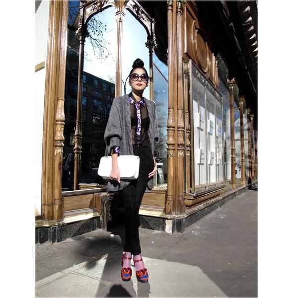 Луки с Недели моды в Париже. Изображение № 62.