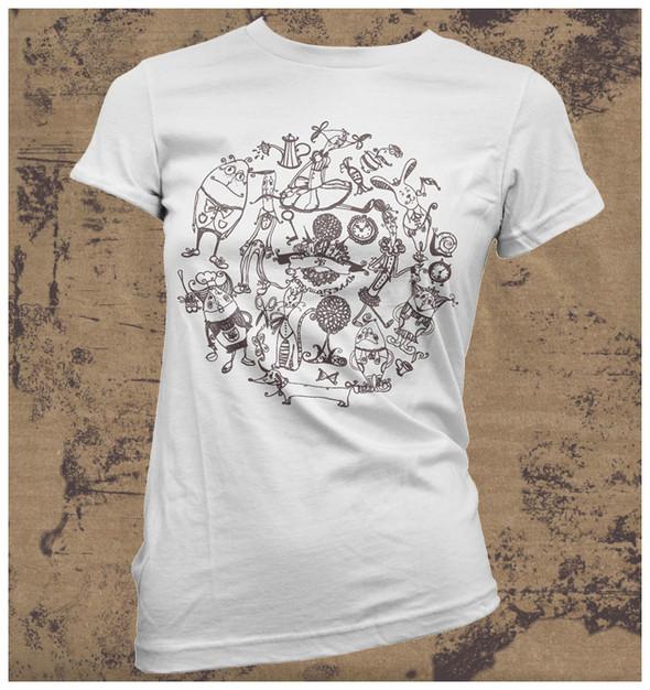 Изображение 29. Принтовые футболки.. Изображение № 29.