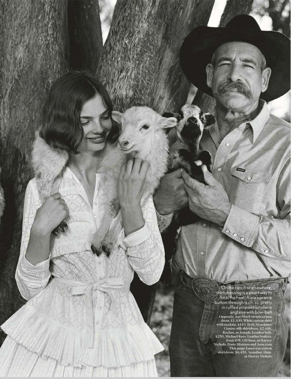 Съёмки: Harper's Bazaar, Interview, Vogue и другие. Изображение № 14.