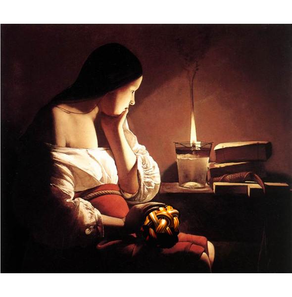 «Магдалина со светильником» Жоржа де Ла Тура. Изображение № 2.