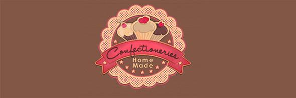 День шоколада. Вкусные шоколадные логотипы. Изображение № 12.