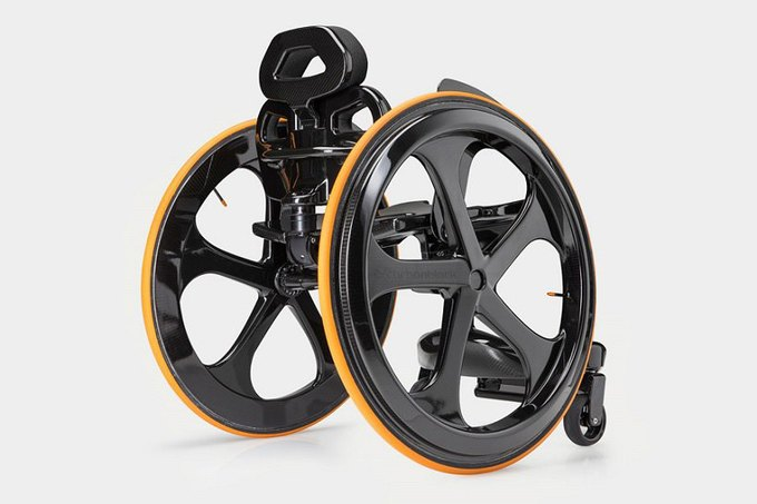 Концепт: инвалидное кресло на основе углеродного волокна. Изображение № 1.