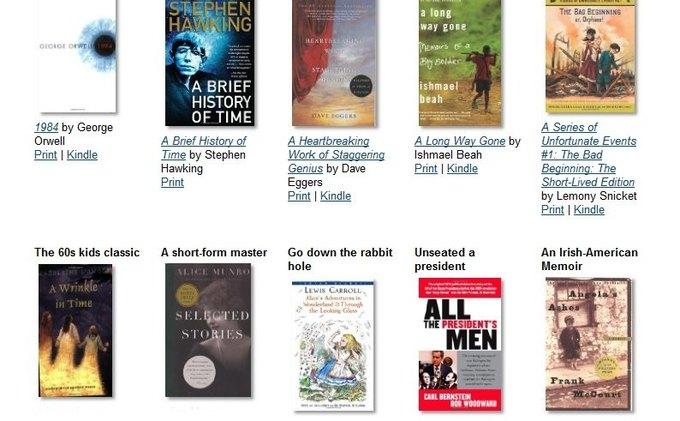 Amazon опубликовал список обязательных к прочтению книг. Изображение № 1.