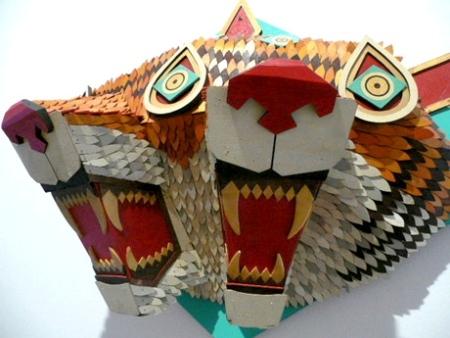 AJFosik деревянные фракталы. Изображение № 3.