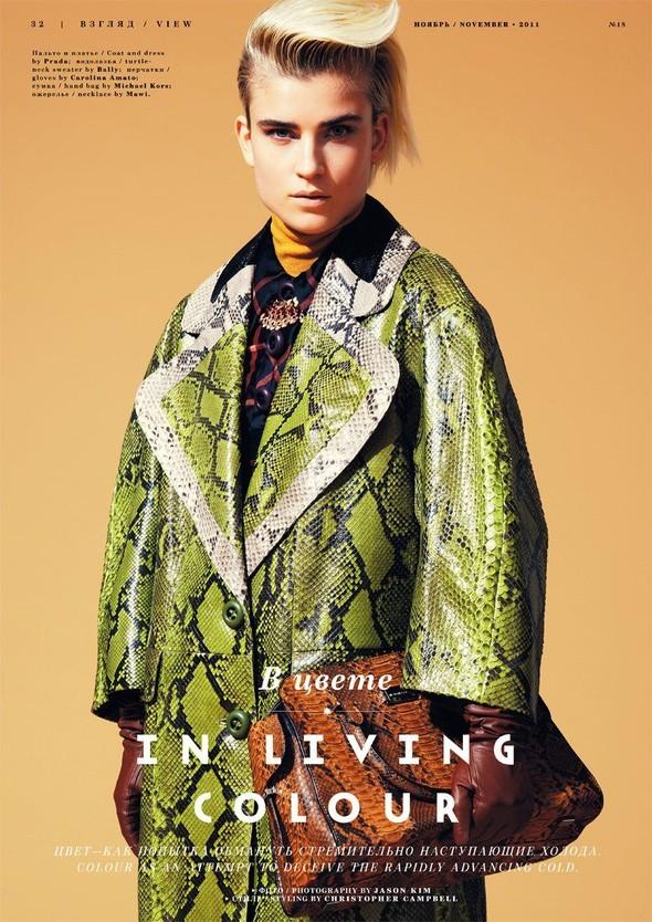 Съёмка: Яна Кнауэрова для Playing Fashion. Изображение № 1.