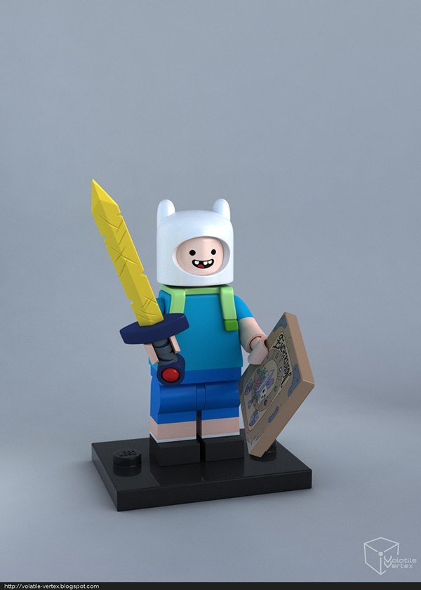 Концепт: персонажи Adventure Time в LEGO. Изображение № 1.