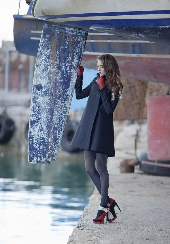 24 марта в рамках Mercedes-Benz Fashion Week Russia Яна Гатауллина пре. Изображение № 1.