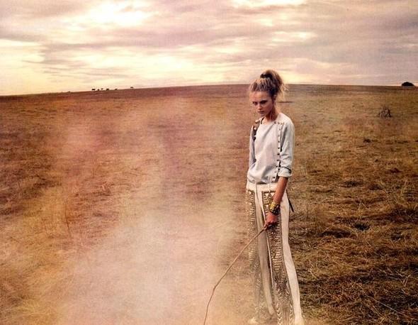 Сьемка: Влада Рослякова для Elle US. Изображение № 2.