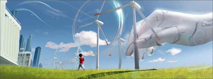 Спецэффекты: город будущего в рекламе Toshiba . Изображение № 10.