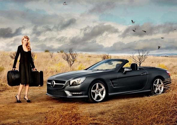 Супермодель Лара Стоун стала новым лицом Mercedes-Benz. Изображение № 1.