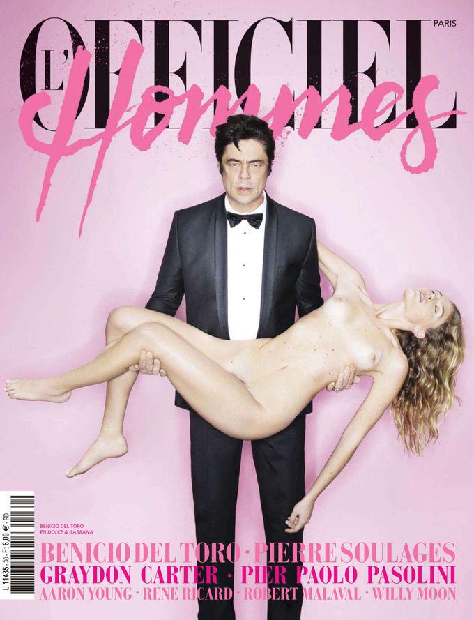 L'Officiel, Revs, W и другие журналы показали новые обложки. Изображение № 2.