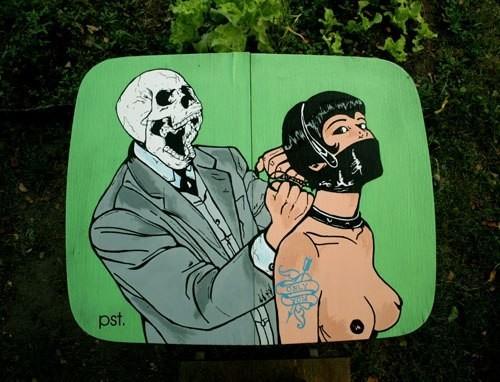 Лучшие иллюстрации, арт, графити и все, что можно с этим сравнить. Изображение № 5.