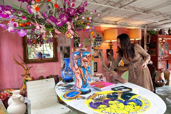Дом и студия художницы Isabelle Tuchband в Сан Пауло.. Изображение № 5.