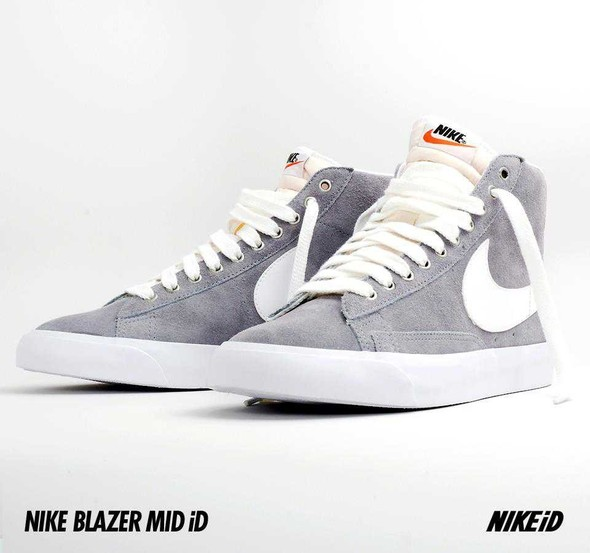 Nike X Liberty Summer Collection/  Blazer Mid iD.. Изображение № 27.