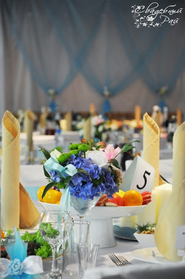 Цвет свадебного дня или праздник длиною в жизнь. Изображение № 8.