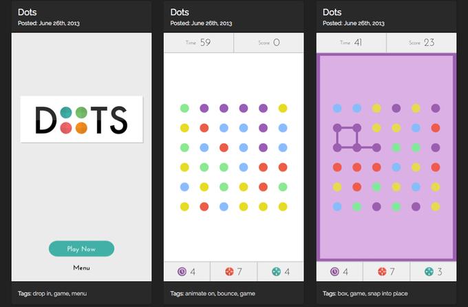 Эволюция приложения Dots. Изображение № 1.