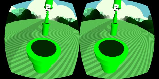 Вышла трёхмерная Flappy Bird для Oculus Rift. Изображение № 1.