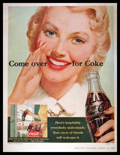 Изображение 42. Coca-cola – История бренда, история рекламы.. Изображение № 42.