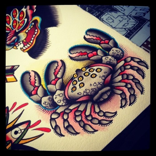 Kim-Anh Nguyen-Dinh : От рисунка к татуировке. Изображение № 11.