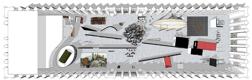 Архитекторы бюро FORM о своем проекте для Московской биеннале. Изображение № 2.
