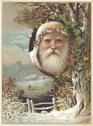 Новогодняя ирождественская открытка. Изображение № 8.