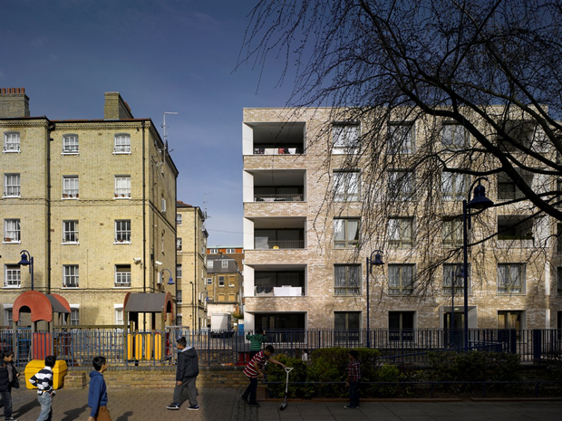 Darbishire Place (Лондон) по проекту Niall McLaughlin Architects. Изображение № 12.