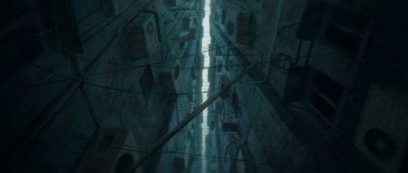 Изображение 1. Rain town.. Изображение № 1.