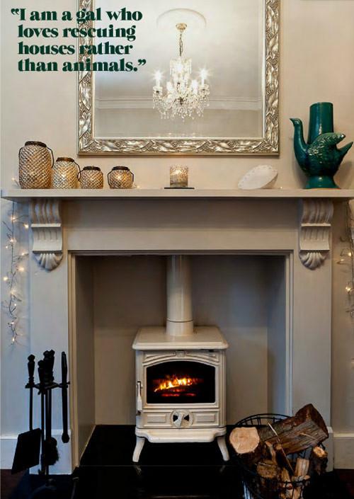 Настоящий огонь у вас дома. 12 вариантов каминов в жилых помещениях. Изображение № 7.