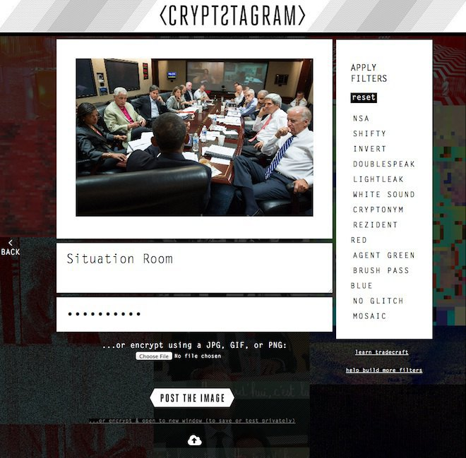 Инструмент Crypstagram шифрует сообщения и картинки. Изображение № 4.