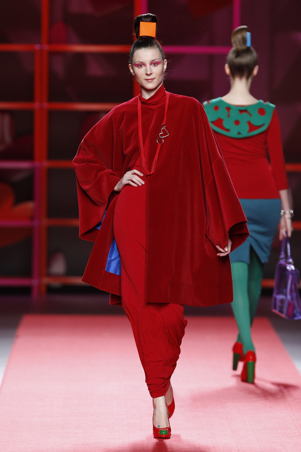 Madrid Fashion Week A/W 2012: Agatha Ruiz de la Prada. Изображение № 18.
